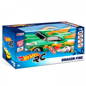 Hot Wheels Dragon Fire radio control car