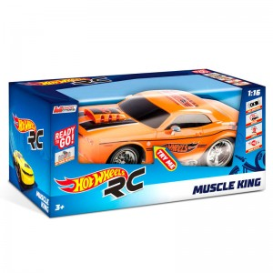Hot Wheels Muscle King radio control car