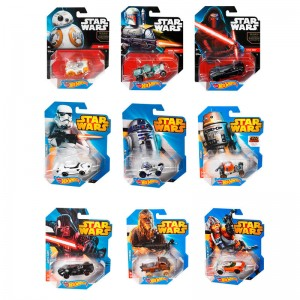 Hot Wheels Star Wars assorted deluxe vehicle