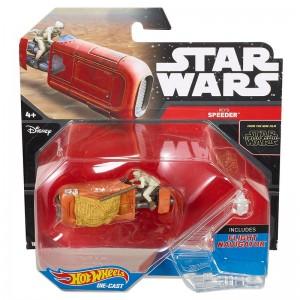 Hot Wheels Star Wars Rey's Speeder Vehicle