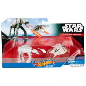 Blister AT-AT vs Reel Snowspeeder Star Wars Hot Wheels
