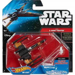 Fighter Hot Wheels Poe's X-wing vehicle