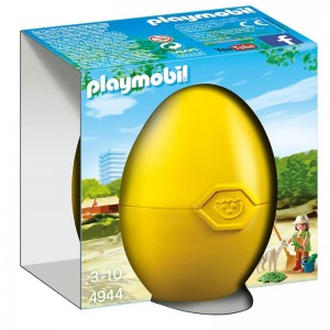 Playmobil Easter Zookeeper Gift Egg