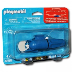 Playmobil submarine motor
