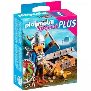 Playmobil Special Plus viking with treasure