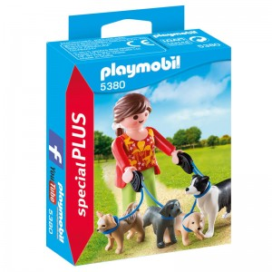 Playmobil Special Plus Woman with dogs