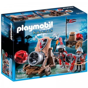 Playmobil Knights Hawk knights canon