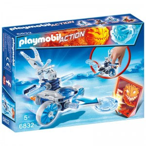 Playmobil Action Frosty with thrower