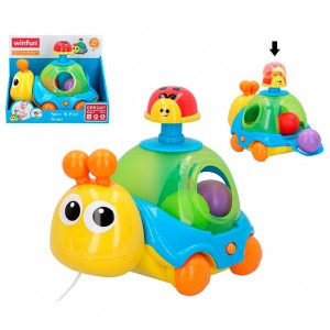 Spin N Pull Snail