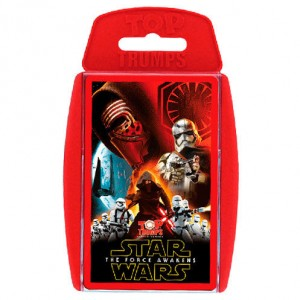 Star Wars The Force Awakens Top Trumps spanish game