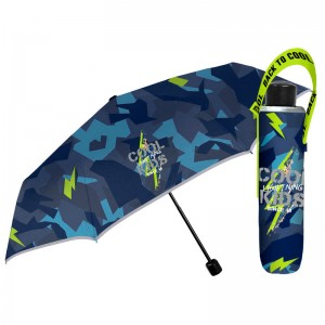 Cool Kids manual folding umbrella 50cm