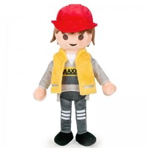 Playmobil soft plush toy 32cm Worker