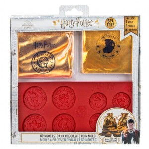 Harry Potter Gringotts Bank Coin chocolate mold