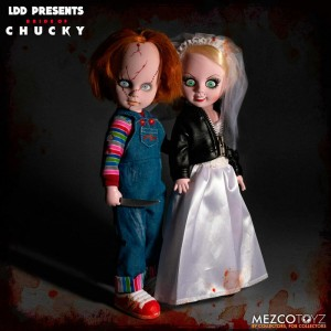 Living Dead Dolls Chucky and Tifanny pack 2 figures 25cm