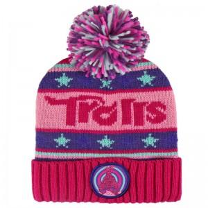 Trolls premium jacquard bobble hat