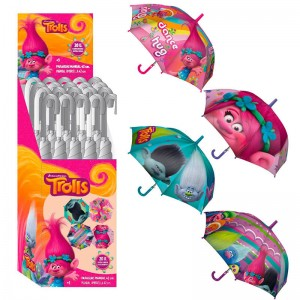 Trolls assorted umbrella 42cm