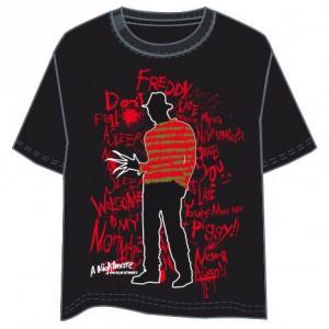 A Nightmare on Elm Street adult t-shirt