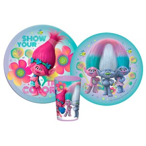 Trolls breakfast set