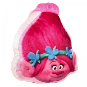 Trolls Poppy Shaped 3D cushion