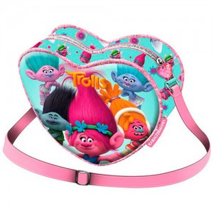 Trolls Colors hearth shape bag
