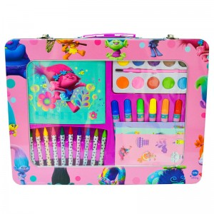 Trolls metalic artist case with window
