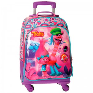 Trolls Friends trolley 4r 46cm